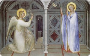 Giusto de Menabuoi Annunciazione