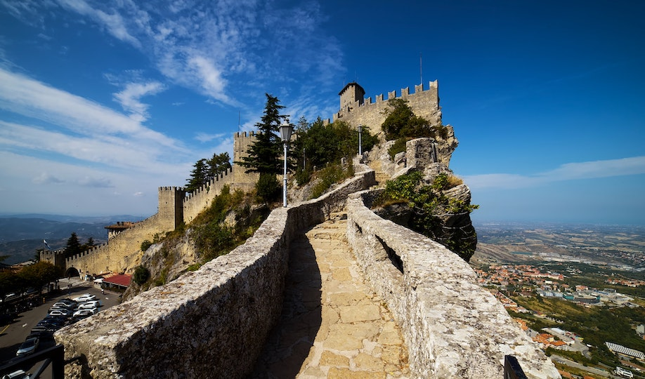 San Marino. Photo by Patrick on Unsplash