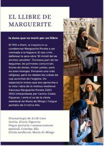 El Llibre de Marguerite a Sant Antoni de Vilamajor